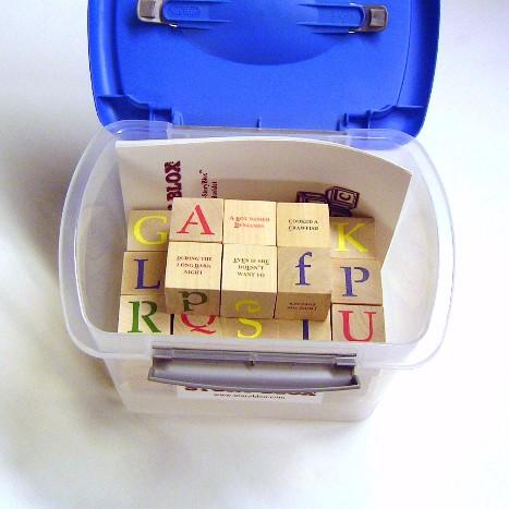 StoryBlox - in Plastic Bin